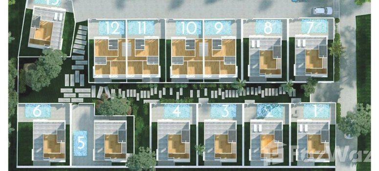 Master Plan of Sense 8 Samui Villas - Photo 1