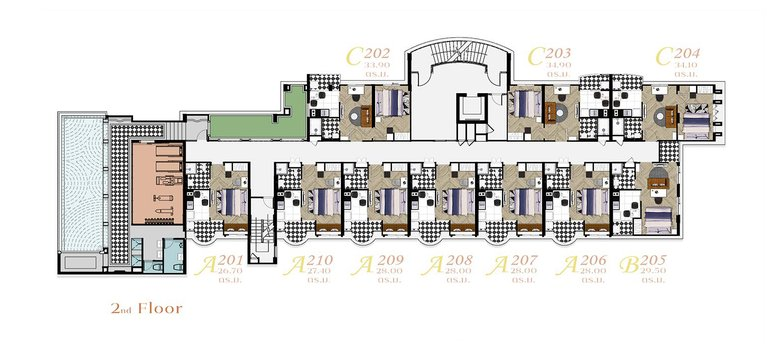 Master Plan of The Canale Condo Chiangmai - Photo 1