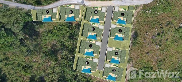 Master Plan of Apple Villas Koh Samui - Photo 1