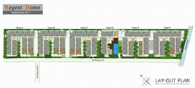 Master Plan of Regent Home Sukhumvit 97/1 - Photo 1