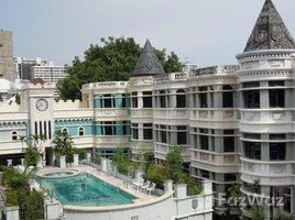 3 Bedrooms Townhouse for rent in Khlong Toei Nuea, Bangkok Moo Baan Chicha Castle