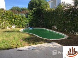 Grand Casablanca Bouskoura Belle villa Angle et Moderne avec piscine 3 façades à vendre en résidence fermée et sécurisée 3 卧室 别墅 售
