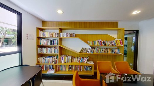 3D Walkthrough of the Library / Reading Room at Zenith Place Sukhumvit 42