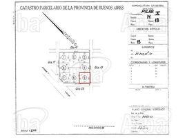 N/A Terreno (Parcela) en venta en , Buenos Aires Chazarreta - Villa Rosa, Pilar - Gran Bs. As. Norte, Buenos Aires
