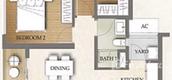 Unit Floor Plans of The Metropole Thu Thiem