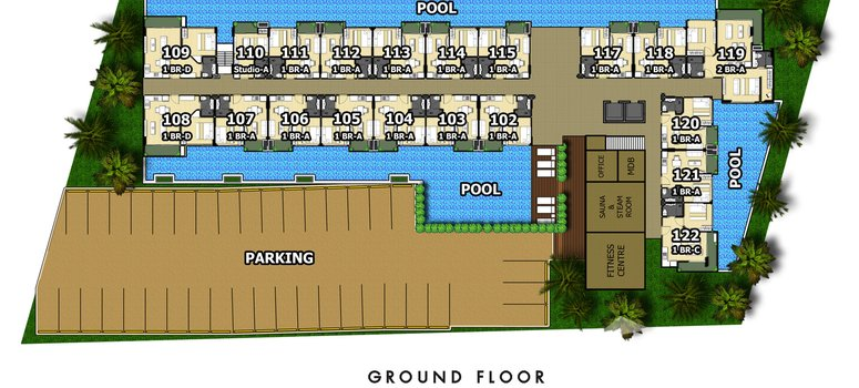 Master Plan of City Garden Tropicana - Photo 1