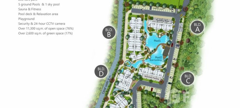 Master Plan of The Title Residencies - Photo 1
