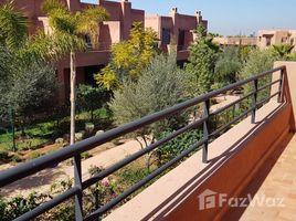 Marrakech Tensift Al Haouz Na Marrakech Medina A saisir villa pavillonnaire toute neuve à louer vide de 3 chambres avec jardin privatif située au domaine les jardins d'atlas à 13 Km de Marrakech 3 卧室 别墅 租