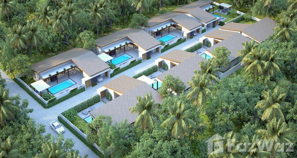 The cheapest residential projects in Koh Samui - Hansa by Tropical Life Residence