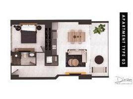1 Habitación Departamento en venta en , Jalisco 207 Constitucion 403