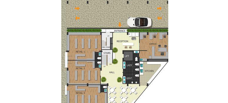 Master Plan of The Proud Condominium - Photo 1