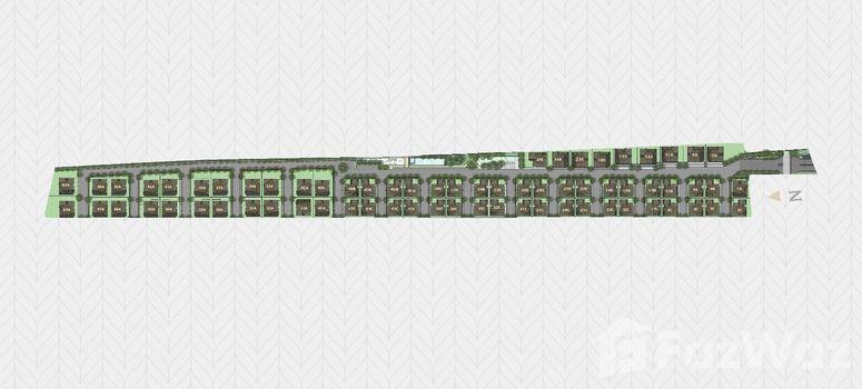 Master Plan of Vana Residence Rama 9 - Srinakarin - Photo 1