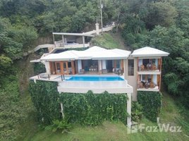 Puntarenas Shangri La: Luxury House With Astonishing Ocean Views, Manuel Antonio, Puntarenas 3 卧室 屋 租