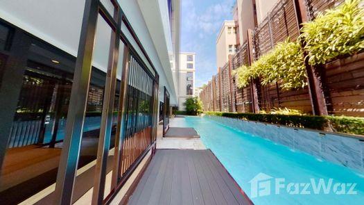 3D Walkthrough of the Communal Pool at Nivati Thonglor 23