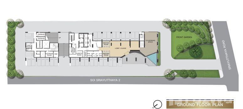 Master Plan of The Room Phayathai - Photo 1