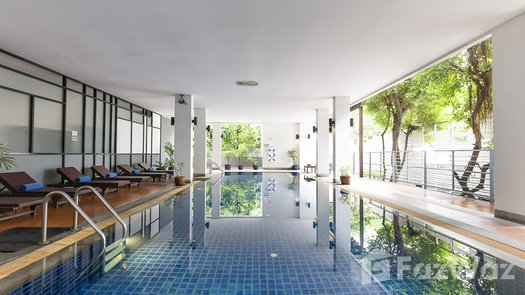 3D Walkthrough of the Communal Pool at Benviar Tonson Residence