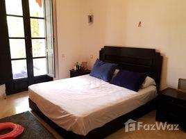 Marrakech Tensift Al Haouz Na Annakhil Villa 3 ch meublée avec piscine à la palmeraie 3 卧室 别墅 租