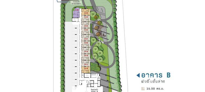 Master Plan of Lumpini Place Srinakarin - Photo 3