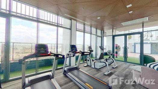 3D Walkthrough of the Communal Gym at Metro Sky Prachachuen