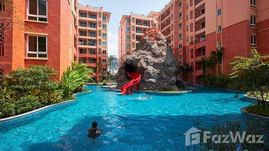 3D Walkthrough of the Communal Pool at Seven Seas Resort