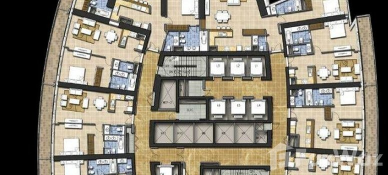 Master Plan of Damac Heights - Photo 1