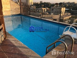 Cairo Penthouse With Pool For Rent In Maadi Sarayat 6 卧室 顶层公寓 租