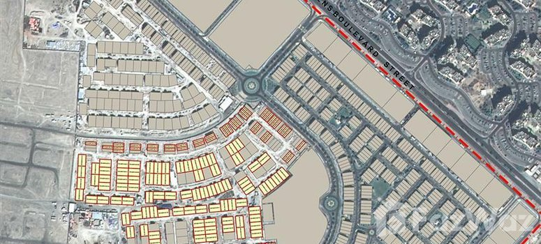 Master Plan of Al Furjan Townhouses - Photo 1