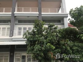 Studio House for sale in Phnom Penh Thmei, Phnom Penh Flat House for Sales Close to Aeon 2 and Macro Sen Sok