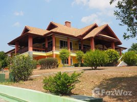 清莱 Rim Kok 5 Rai property with 3 beautiful houses and mountain views. 4 卧室 屋 租