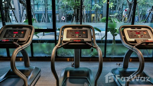 3D Walkthrough of the Communal Gym at Vtara Sukhumvit 36