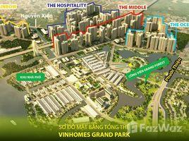 1 Phòng ngủ Chung cư bán ở Long Thạnh Mỹ, TP.Hồ Chí Minh Vinhomes Grand Park quận 9