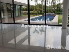 Rabat Sale Zemmour Zaer Na Agdal Riyad Vente Villa Rabat Souissi REF 1109 8 卧室 别墅 售