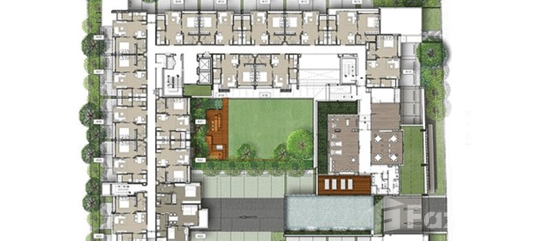 Master Plan of The Room Sukhumvit 40 - Photo 1