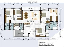5 Bedrooms Apartment for sale in Setapak, Kuala Lumpur Wangsa Maju