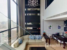 曼谷 Khlong Ton Sai Urbano Absolute Sathon-Taksin 3 卧室 顶层公寓 租