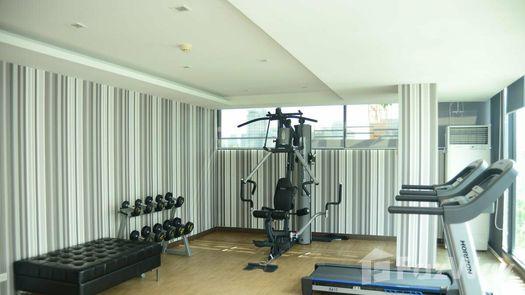 3D Walkthrough of the Communal Gym at SOCIO Ruamrudee