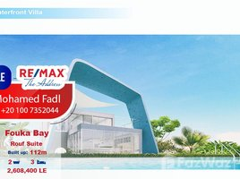 Matrouh Roof suite 112 meter for sale at fouka bay 3 卧室 顶层公寓 售