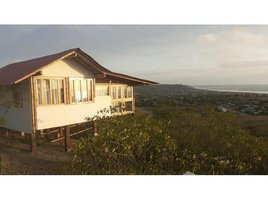 Santa Elena Manglaralto Beautiful cabin with panoramic view, meters from the ocean, Rio Chico, Santa Elena 1 卧室 房产 租