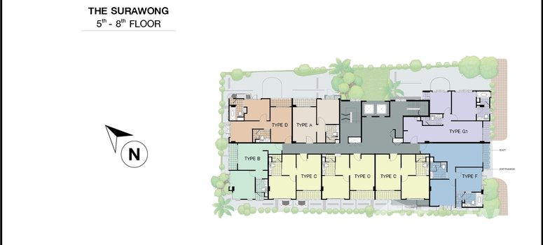 Master Plan of The Surawong - Photo 1