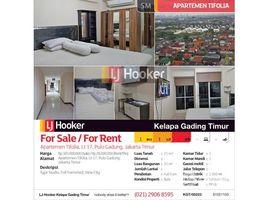1 Bedroom Condo for sale in Pulo Aceh, Aceh Apartemen Tifolia Lantai 17 Pulo Gadung
