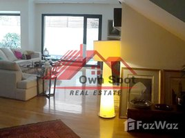 Cairo Modern ground floor with pool for sale in degla 4 卧室 房产 售