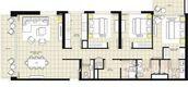 Unit Floor Plans of Park Heights 1