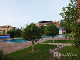 Marrakech Tensift Al Haouz Na Annakhil Villa avec piscine - Route de Fès 4 卧室 别墅 租