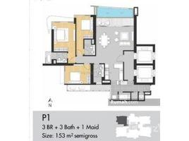 3 Bedrooms Apartment for sale in Grogol Petamburan, Jakarta Jakarta Barat