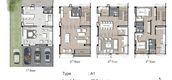 Unit Floor Plans of Altitude Prove Kaset-Nawamin