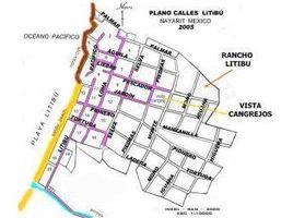 N/A Terreno (Parcela) en venta en , Nayarit Lot 3 Zona centro Litibu, Riviera Nayarit, NAYARIT