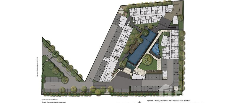 Master Plan of The Base Uptown - Photo 1