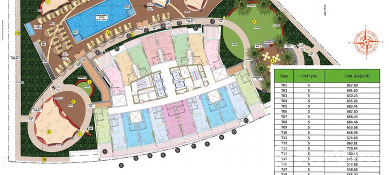 Master Plan of Al Jawhara Residence - Photo 1
