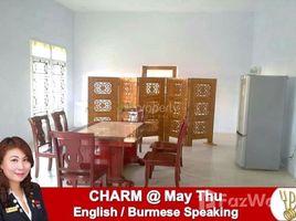 ကော့မှုး, ရန်ကုန်တိုင်းဒေသကြီး 6 Bedroom House for rent in Hlaing Thar Yar Town, Yangon တွင် 6 အိပ်ခန်းများ အိမ်ခြံမြေ ငှားရန်အတွက်