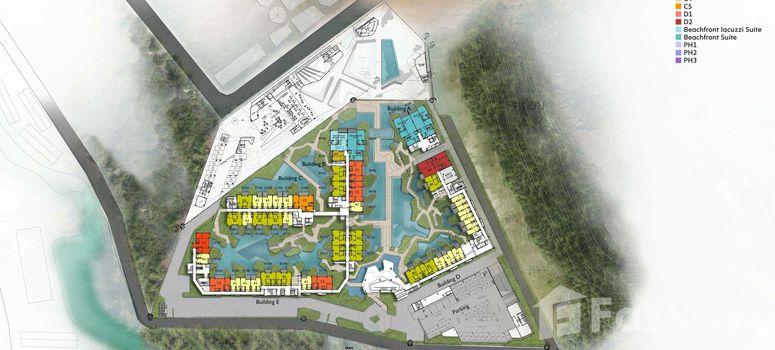 Master Plan of Veranda Residence Hua Hin - Photo 1